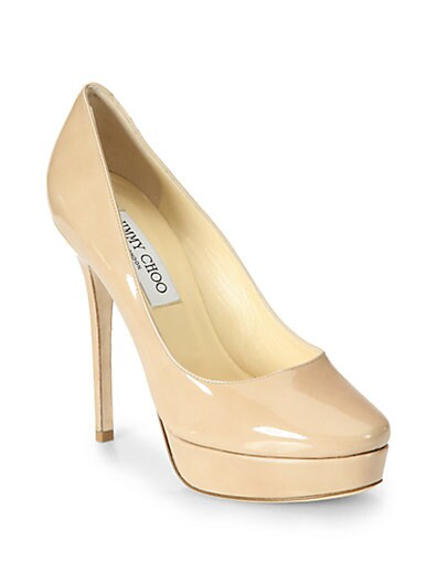 Cosmic Patent Leather Pumps