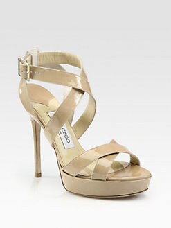 Jimmy Choo - Patent Leather Sandals