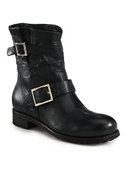 Jimmy Choo - Youth Biker Boots