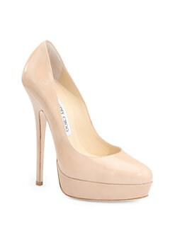 Jimmy Choo - Eros Patent Leather Pumps