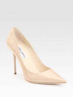 Jimmy Choo - Alicia Patent Point-Toe Pumps
