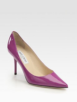 Jimmy Choo - Agnes Patent Leather Pumps