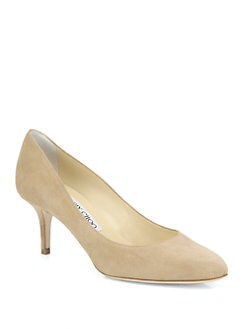 Jimmy Choo - Irena Suede Pumps
