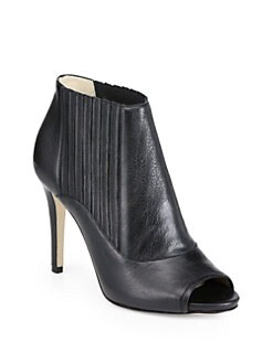 Jimmy Choo - Brenna Leather Ankle Boots