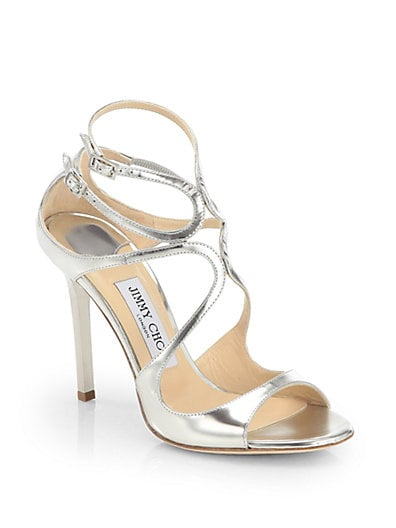 Lang Strappy Mirror Leather Sandals