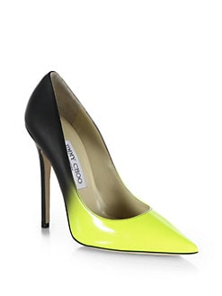 Jimmy Choo - Anouk Leather Degrade Pumps