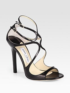 Jimmy Choo - Lance Leather Sandals
