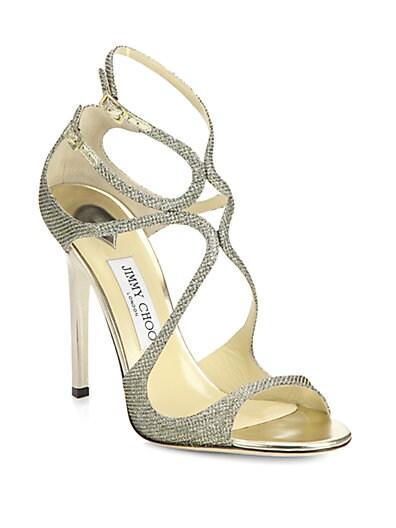 Lance Lame Glitter Sandals