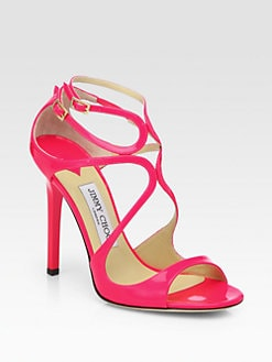 Jimmy Choo - Lance Patent Leather Sandals