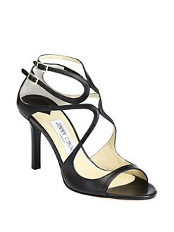 Jimmy Choo - Ivette Leather Sandals