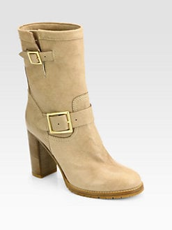 Jimmy Choo - Dart Leather Mid-Calf Boots