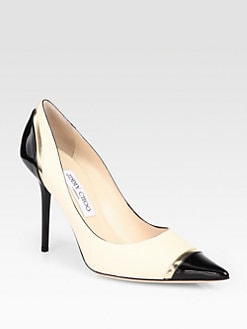 Jimmy Choo - Lumina Leather Pumps