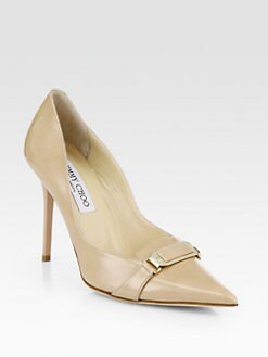 Jimmy Choo - Vecta Patent Leather Pumps