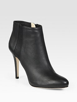 Jimmy Choo - Tito Leather Ankle Boots