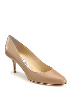 Jimmy Choo - Irena Leather Pumps