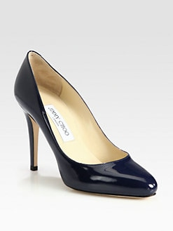 Jimmy Choo - Vikki Patent Leather Pumps
