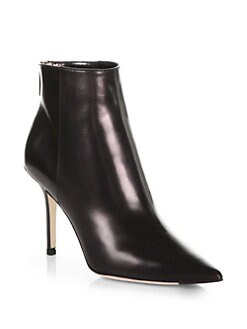 Jimmy Choo - Amore Leather Ankle Boots