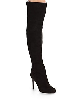 Jimmy Choo - Gypsy Suede Over-The-Knee Boots
