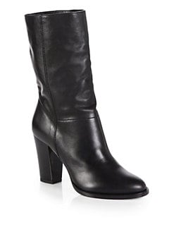 Jimmy Choo - Music Leather Mid-Calf Boots