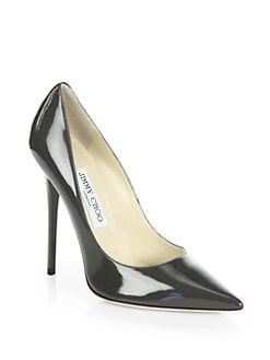 Jimmy Choo - Anouk Patent Leather Pumps
