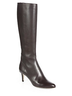 Jimmy Choo - Gem Leather Knee-High Boots