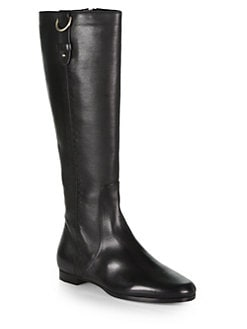 Jimmy Choo - Marla Leather Knee-High Boots
