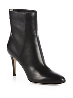 Jimmy Choo - Brock Leather Mid-Calf Boots