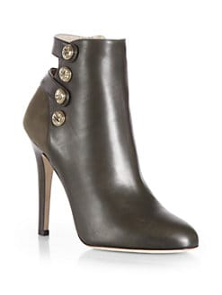 Jimmy Choo - Talma Suede & Leather Ankle Boots