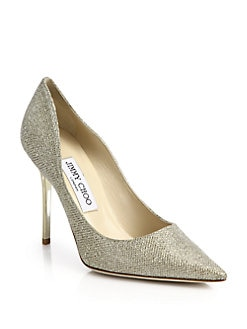 Jimmy Choo - Abel Glitter Pumps