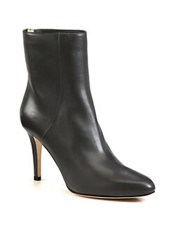 Jimmy Choo - Broc Leather Ankle Boots