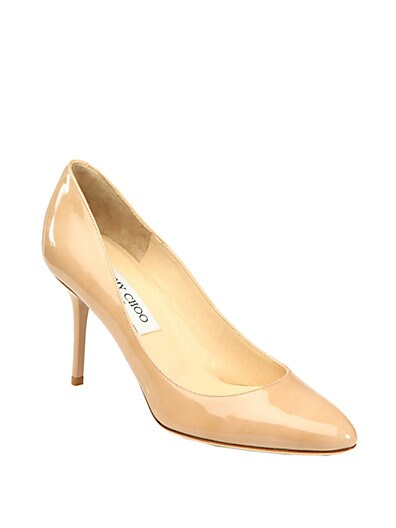 Gilbert Patent Leather Pumps