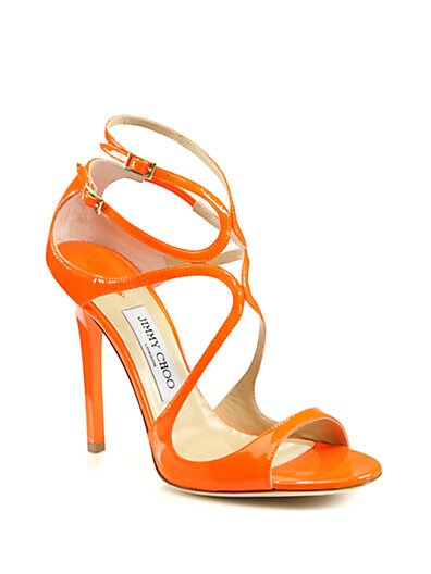 Lance Strappy Patent Leather Sandals