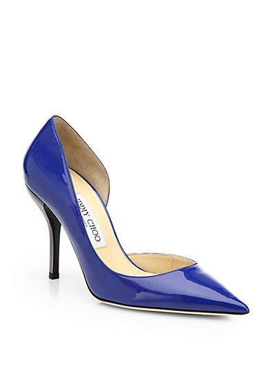 Willis Patent Leather d'Orsay Pumps