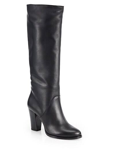 Marvel Leather Knee-High Boots