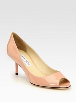 Jimmy Choo - Isabel Patent Leather Pumps