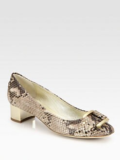 Jimmy Choo - Moore Snake-Print Leather Pumps