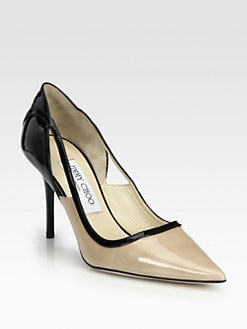 Jimmy Choo - Visor Patent Leather Pumps