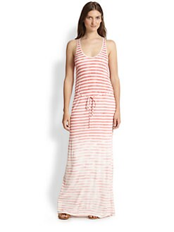 Soft Joie - Emilia Faded-Stripe Jersey Maxi Dress