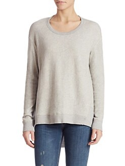 Wilt - Basic Big Back Slant Sweatshirt
