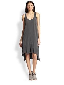 Wilt - Cotton Jersey Hi-Lo Dress