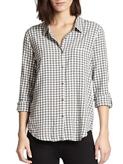 Soft Joie - Annabella Checked Shirt