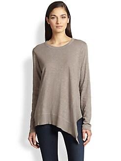 Wilt - Asymmetrical Slouched Cotton Slub Jersey Top