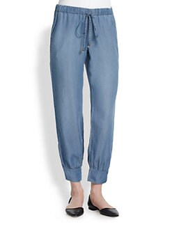 Splendid - Chambray Track Pants
