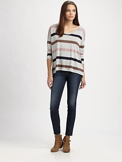 Soft Joie - Fawn Striped Top