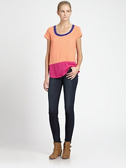 Splendid - Colorblock Tee