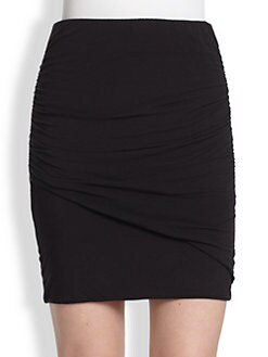 Splendid - Ruched Jersey Skirt