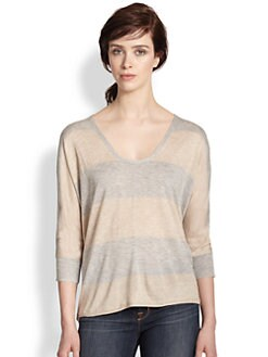 Splendid - Dolman-Sleeved Striped Sweater