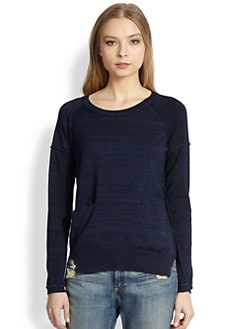 Splendid - Raglan-Sleeved Cotton Sweater
