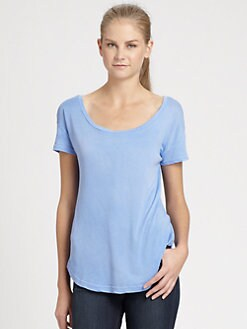 Splendid - Double Scoop Tee