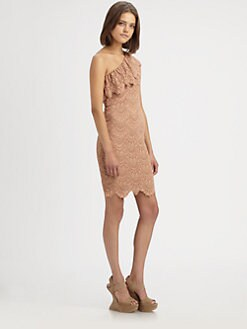 Nightcap Clothing - One-Shoulder Dress